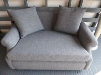 Small 2 Seater Settee. Fully restored, new everything!