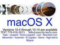 macOS Apple Macbook mac os recovery repair computer imac iphone