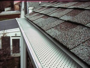 Gutter cleaning / guard installs  Kitchener / Waterloo Kitchener Area image 1