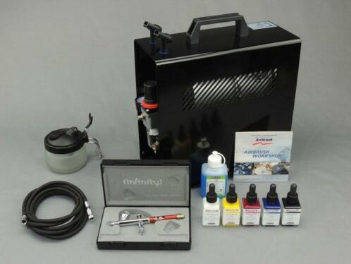 Harder & Steenbeck set Airbrush Infinity CR Plus 0,2 mm m...