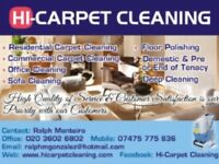 Hi Carpert cleaning /End of Tenancy cleaning