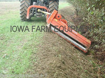 Flail Ditch Bank Mower Maschio Giraffa 185si 75 Cut 60hp Adjust On The Fly
