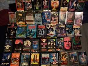 Horror, cult and exploitation vhs, Beta and laser discs Windsor Region Ontario image 1
