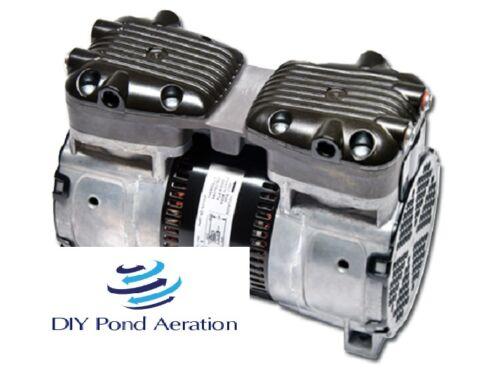 "NEW 115V 87R GAST Compressor VACUUM PUMP 26""+hg 1/2hp veneer/Aerate 2yr warranty"