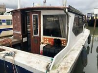Cosy Houseboat Project - Lady Sadie