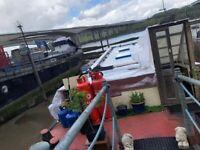 Houseboat with Garden Mooring - Stargate