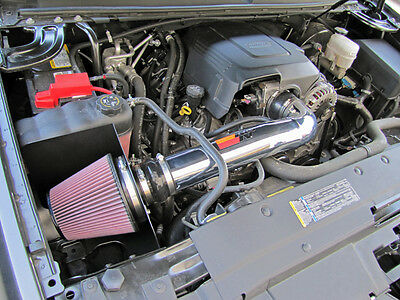 K&N Cold Air Intake System 09-13 Chevy Silverado GMC Sierra 4.8 5.3 6.0 6.2