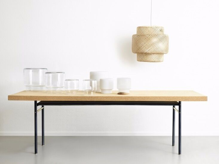 ILSE CRAWFORD SINNERLIG CORK DINING TABLE