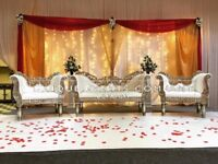 Wedding Stage Hire -Asian Wedding Stage - Indian Wedding Stage- Mehndi Stages-Wedding Decor