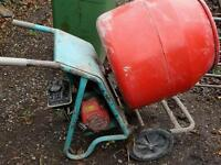 Cement mixer honda petrol engine