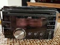 JVC kw-xr411 mp3 USB double din