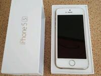 IPhone 5s white and gold unlocked
