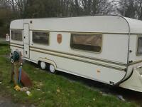 Wippert tabbert caravan twin wheel