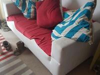 Ikea 2 seater sofa.