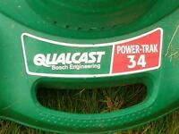 qualcast power trak 34 lawnmower
