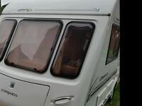 2 berth caravan. Omega compass 423