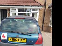 Clio 12 months mot cheap quick sale