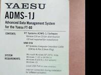 Yaesu ft 60 software