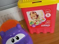Kids clip of figure bucket over 18 months