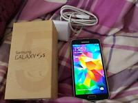 Samsung s5 in blue unlocked for sale