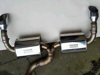 "Focus RS mk2 BCS 3"" Exhaust"