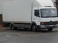 2005 mercedes atego 815 long mot spares or repair export recovery chassis cab