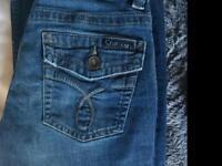 Calvin Klein bootleg jeans small