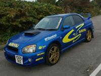 Subaru sti replica 05 plate service history mot march next year