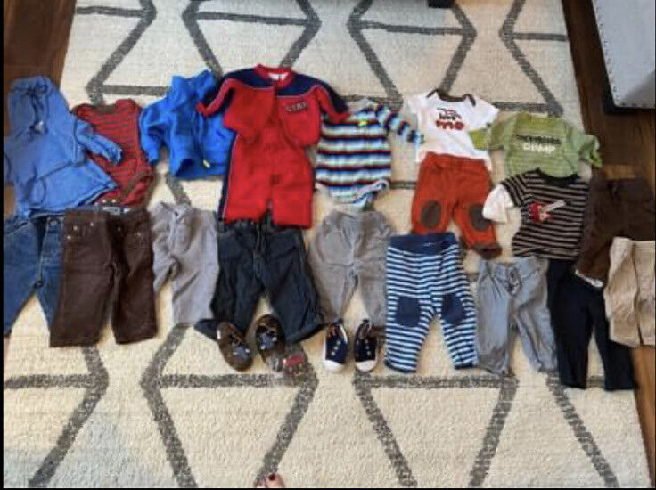 Lot Of Baby Boy Clothes 3 - 6 Months