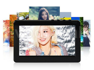 """NEW BLACK EVODIGITALS 80GB 4.3"""" TOUCH SCREEN MP5 MP4 MP3 PLAYER VIDEO + TV OUT"""