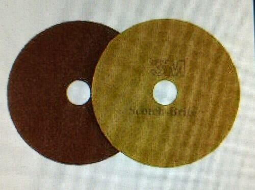 Scotch-Brite Sienna Diamond Floor Pad Plus, 20 in, 5/case-Open Box!