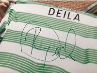 Celtic FC Signed Canvas Ronny Deila