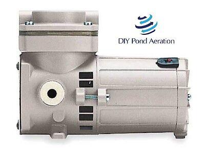New Thomas 405adc3824 Piston Air Compressor110hp24vdc 100psi Free Sh