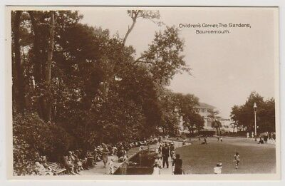 Dorset Postkarte - Kinder Ecke in Gärten, Bournemouth - (A1092)