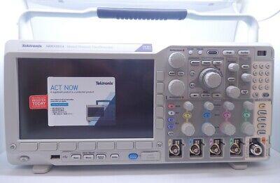 Tektronix 4 Analogue Channel 100mhz Mixed Domain Oscilloscope Mdo3014