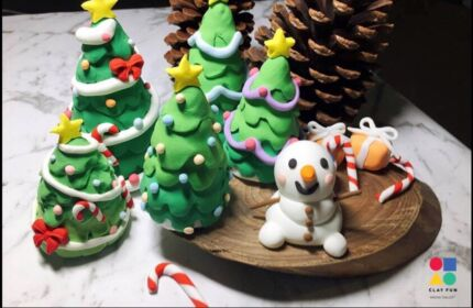 Kids party activity- special edition: X'mas tree