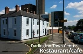 Restaurant/cafe in Darlington Town Centre , refurbished, ready to open, £275pw, owner direct