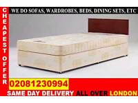 **** WOW FREE DELIVERY *** SINGLE DOUBLE SMALL DOUBLE KING SIZE BEDDING BASE ..CALL NOW