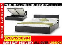 **** FREE DELIVERY *** SINGLE DOUBLE KING SIZE LEATHER BEDDING ...CALL NOW