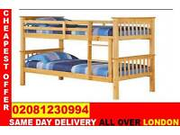 **** FREE DELIVERY *** Double Single WOODEN Bunk Base, That convert into two- /Bedding ...CALL NOW