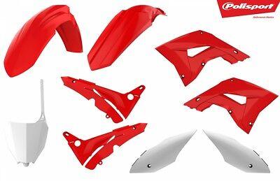 Polisport Full Plastic Restyle Kit Honda CR 125 250 CR250R CR125R 2004-2007