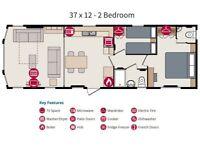 2 Bedroom Static Caravan (Marlow) Eastern Rd Southsea beautiful place 2 off rd parking spaces