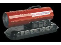 Sealey Space Warmer® Paraffin/Kerosene/Diesel Heater without Wheels