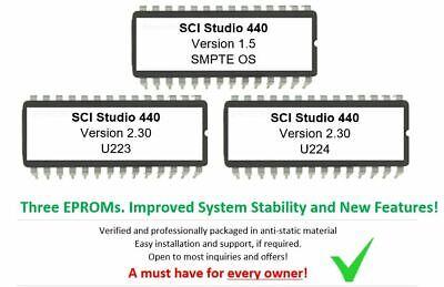 Sequential Circuits Studio 440 - V. 2.30 + SMPTE 1.5 Firmware Update Upgrade SCI