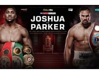 3 x Anthony Joshua vs Joseph Parker Tickets (Middle Tier)
