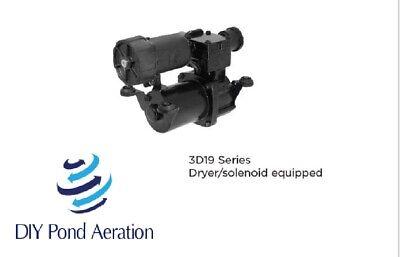 New 12v Thomas Compressor Air Ride Brake Horn 3d191250irslsce 315cdc Wdryer