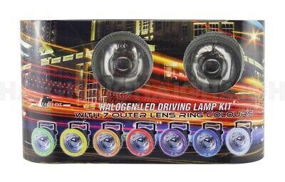 Car Parts - HALOGEN LED DRIVING HEAD LIGHTS LAMP KIT ROUND VEHICLE CAR 4WD ARB CARAVAN PARTS