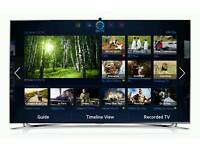 "Samsung UE55F8000ST 55"" 3D Full HD Smart LED TV Evolution Ready twin tuners HD"