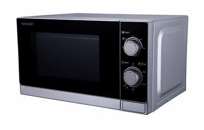 Sharp R200inw Mikrowelle 20 L Garraum Silber 800 W Timer Gewicht- Und Zeitgesteuertes Auftauen
