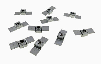 10 Pack 14-20 Floating Cage Nut - Weldable Stamping  Nr 1420
